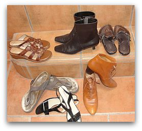 feng shui and shoes